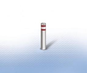 Flexibler Sperrpfosten Edelstahl, RAL lackiert mit Gummifuß