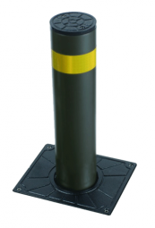 ELEKTROMECHANISCHER POLLER Aushub 500mm Edelstahl V2A