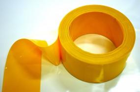 PVC Rolle Gelb-undurchsichtig