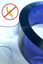 PVC Streifenzuschnitt Transparent Antistatisch 300x3