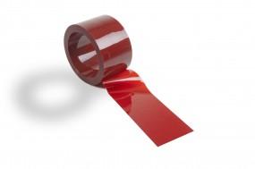 PVC Streifenzuschnitt Schweißerschutz nach DIN EN 1598 im Farbton Orange