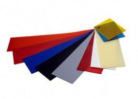 Weich PVC Plattenzuschnitt Farbig gelb 10mm