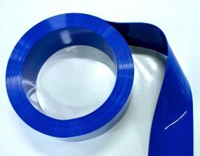 PVC Rolle Blau-undurchsichtig