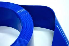 PVC Streifenzuschnitt Farbig Undurchsichtig 300x3 weiss