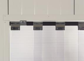 Streifenvorhang PVC Schwenkbar
