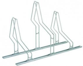 Fahrradständer Bügel 4 Stellplätze inkl. C-Schiene Länge 180 cm